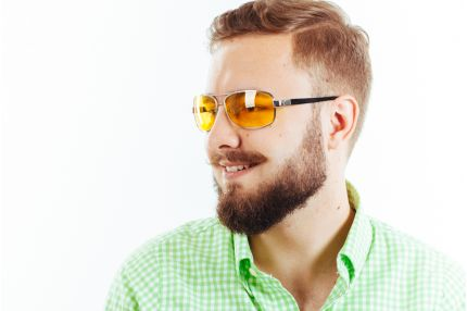 Очки для водителей Premium K01 yellow