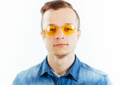 Очки для водителей Premium L02 yellow