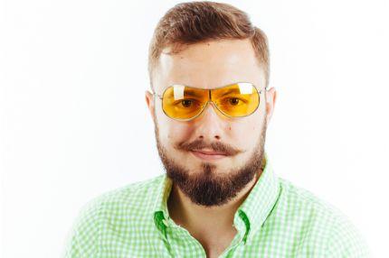 Очки для водителей Premium M01 yellow