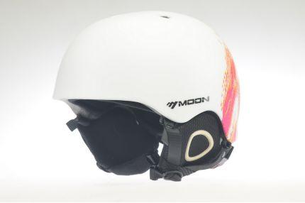 Горнолыжное снаряжение Модель Moon4-white-red