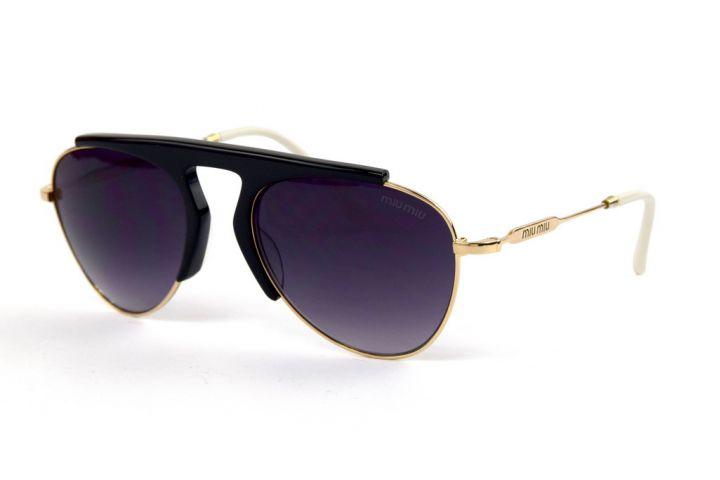 Женские очки Miu Miu 57-21-white