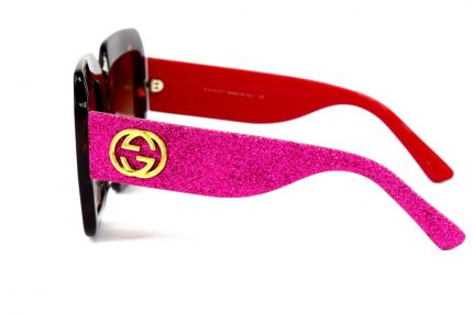 Женские очки Gucci gg102s-red-leo