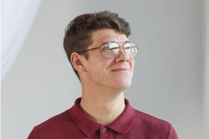 Мужские очки Модель 8018bronz