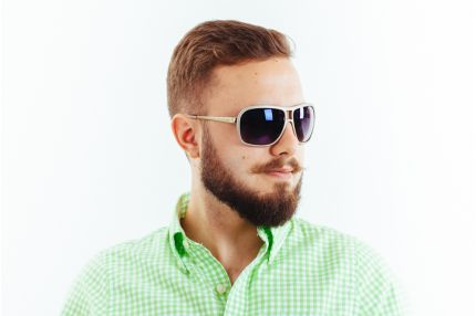 Мужские очки Модель 8183gr/gold