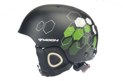 Горнолыжное снаряжение Модель Moon2-black-green