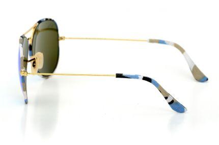 Очки Ray Ban Модель 3026haki-blue